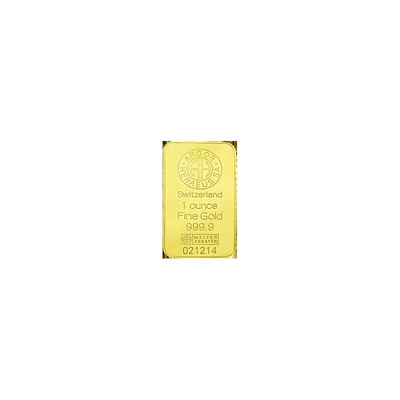 1 oz. Zlatý investiční slitek
