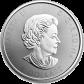Stříbrná investiční mince 150 let Kanady