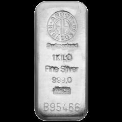 1000G ARGOR HERAEUS INVESTIČNÍ STŘÍBRNÝ SLITEK