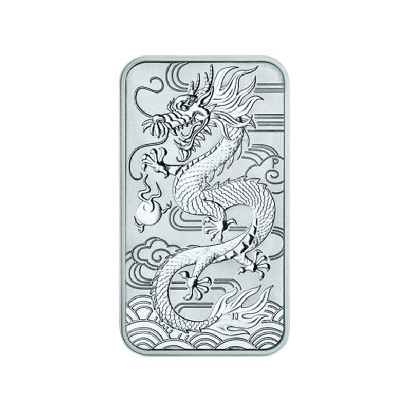 1 Oz Australský  Dragon 2018