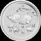 Stříbrná investiční mince  Rok Vepře 1 o.z 2019