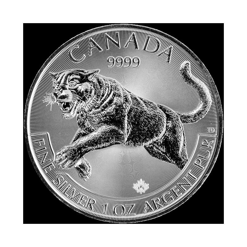 Stříbrná mince Puma  1 Oz 2016