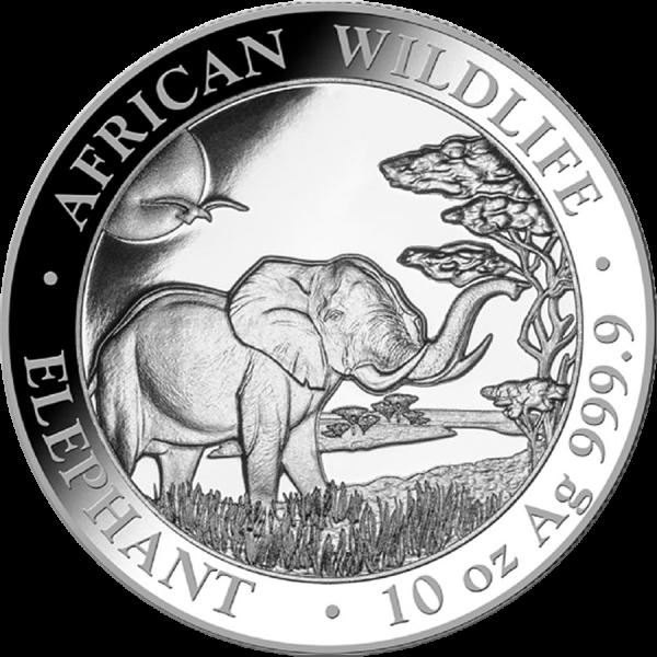 1oz. slon Africký 2019 Somálsko