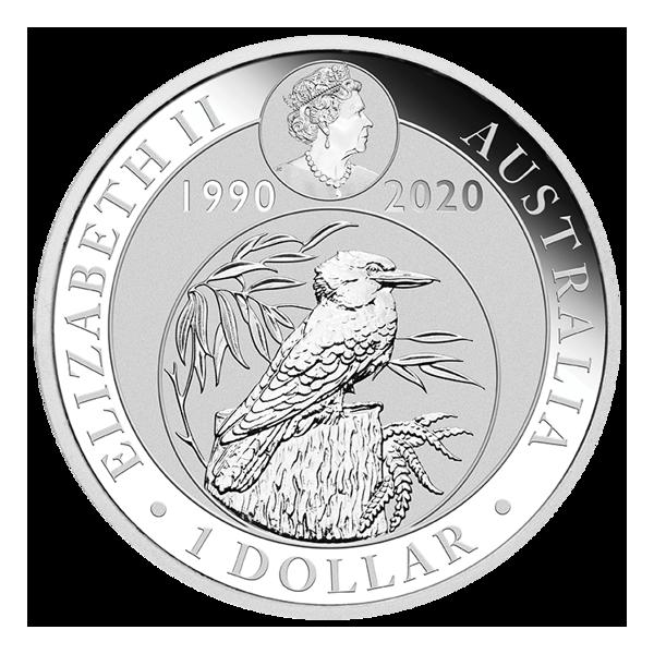 1oz Ledňáček Kookaburra 2020