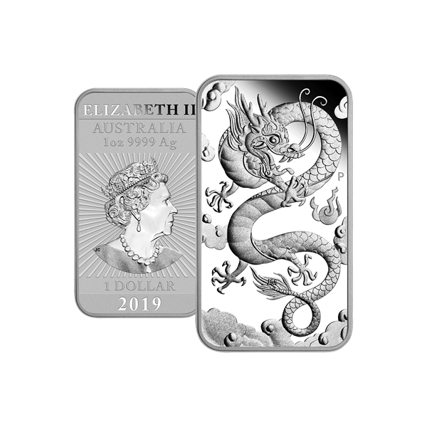1 Oz Australský  Dragon 2019